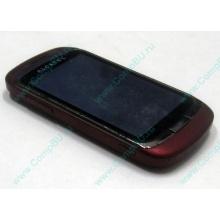 Красно-розовый телефон Alcatel One Touch 818 (Балашиха)
