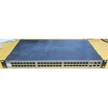 Управляемый коммутатор D-link DES-1210-52 48 port 10/100Mbit + 4 port 1Gbit + 2 port SFP металлический корпус (Балашиха)