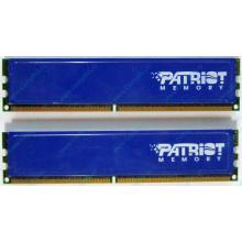 Память 1Gb (2x512Mb) DDR2 Patriot PSD251253381H pc4200 533MHz (Балашиха)
